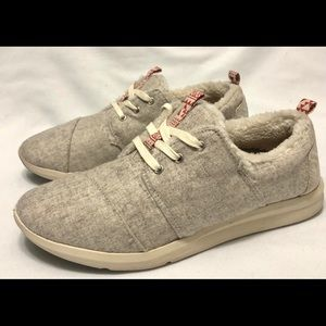 TOMS Del Rey Lace Up Sneakers